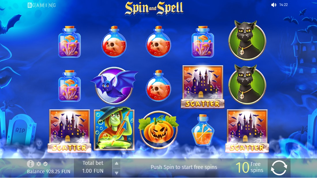 Spin and Spell игровой автомат