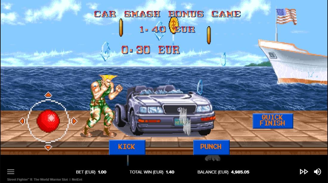 Слот Street Fighter II играть