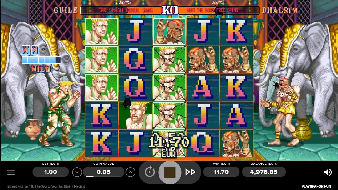 Street Fighter II игровой автомат