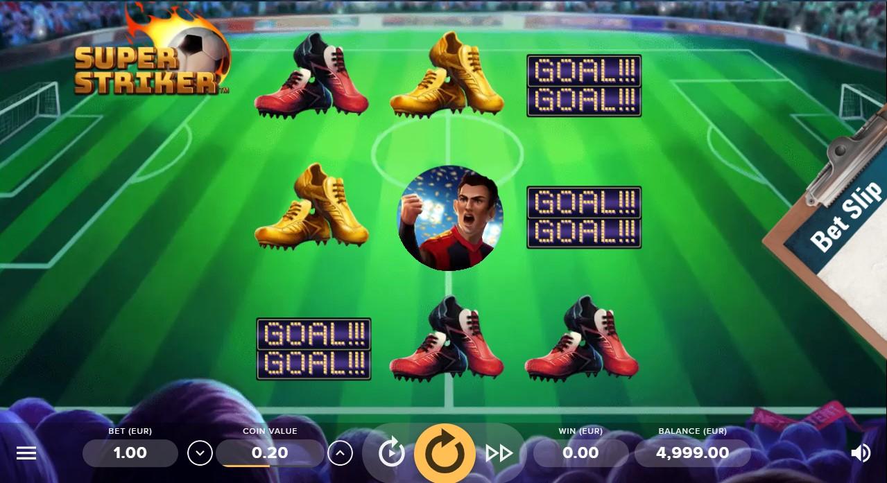 Super Striker игровой автомат