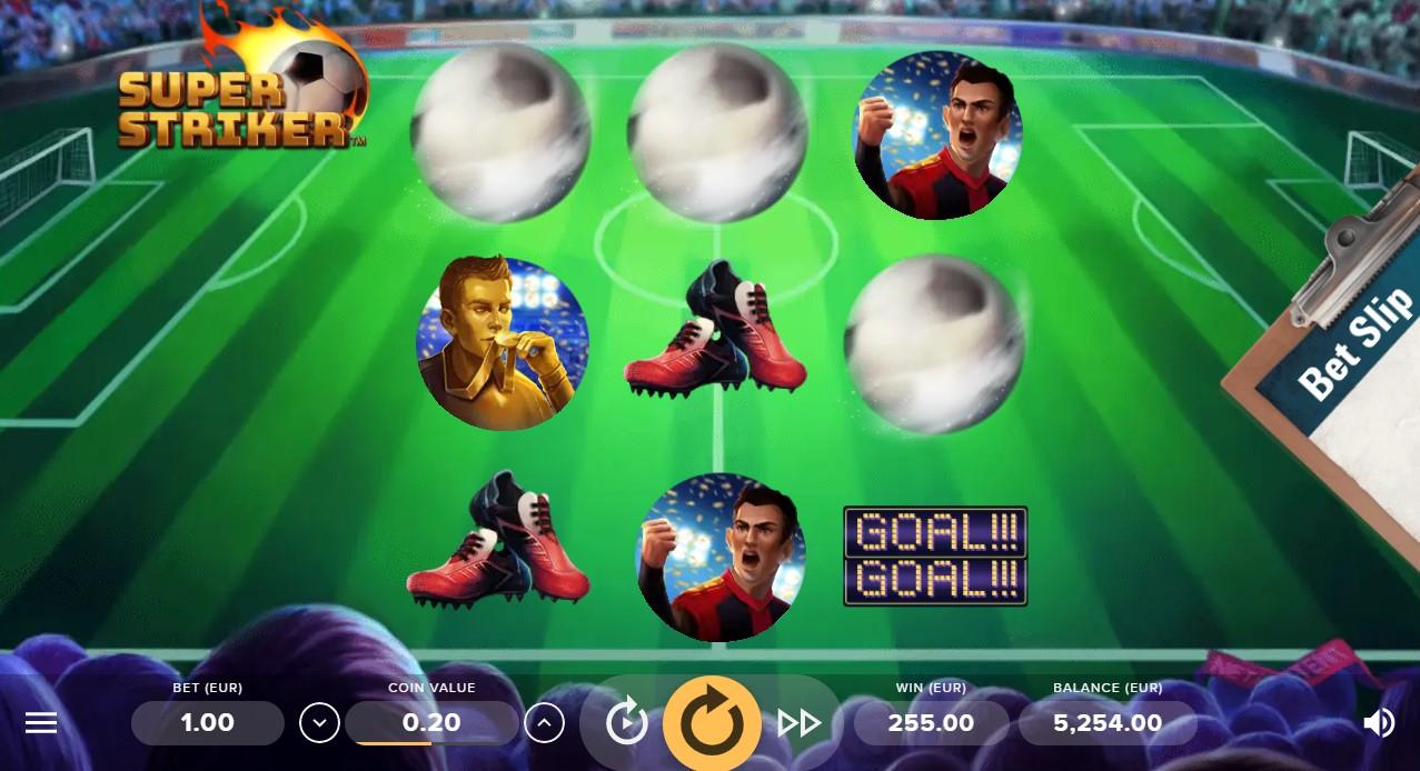 Super Striker онлайн слот