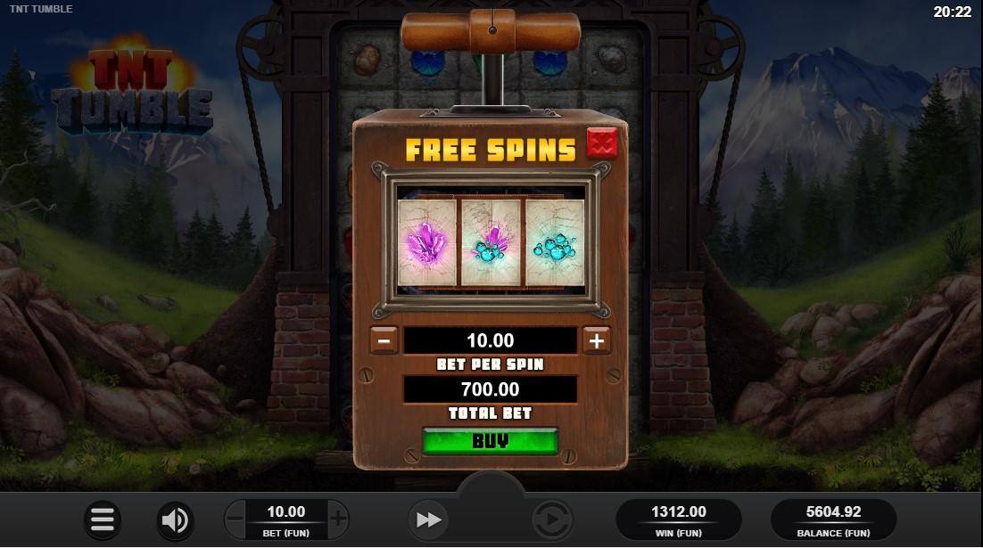 Игровой автомат TNT Tumble