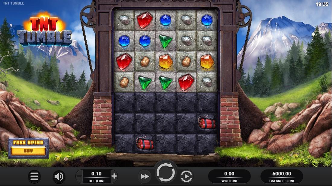 TNT Tumble игровой автомат