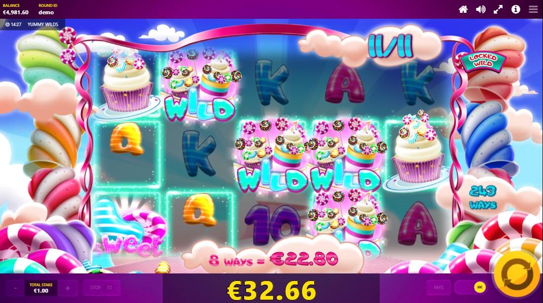Игровой автомат Yummy Wilds
