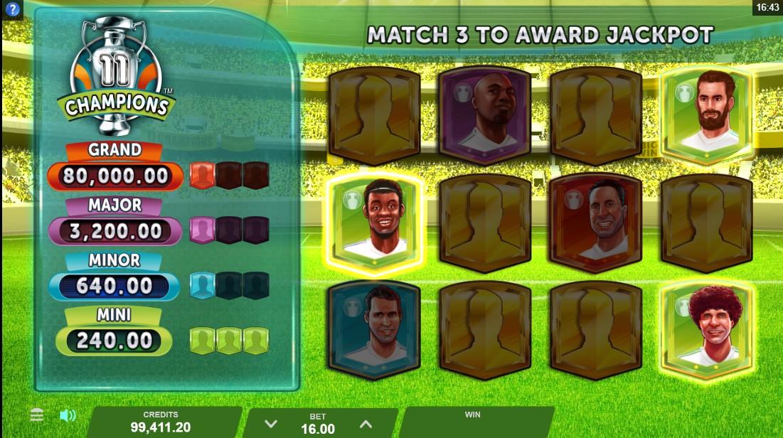 Слот 11 Champions играть бесплатно