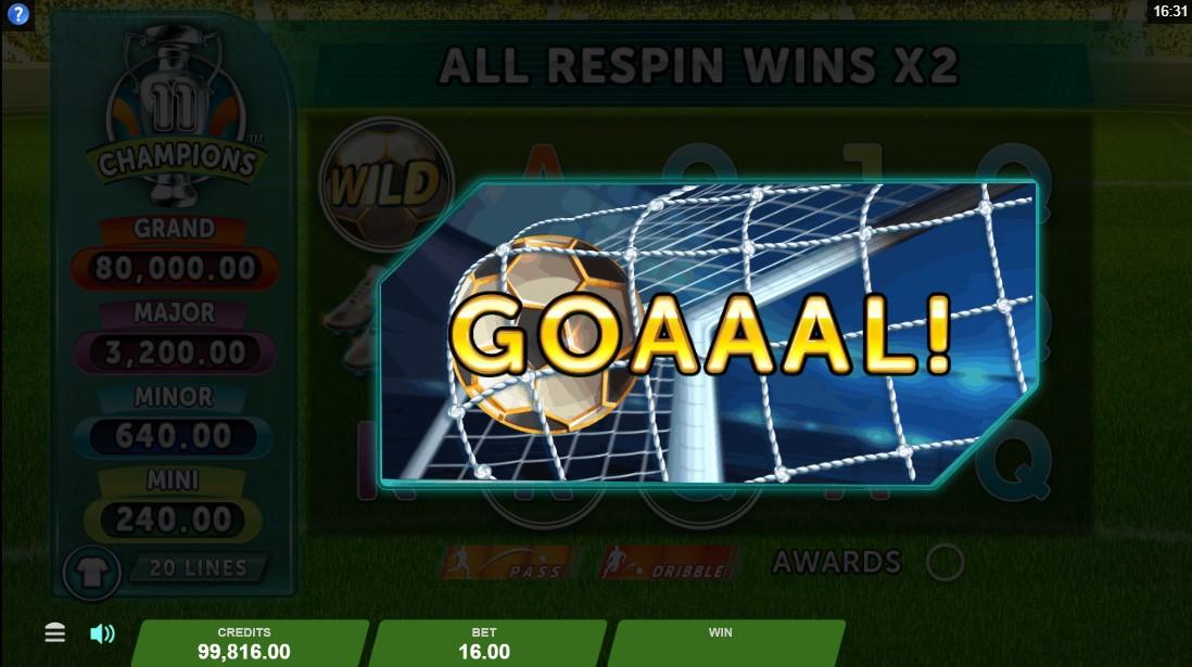 Игровой автомат 11 Champions