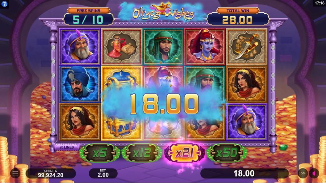 Игровой автомат Aliya's Wishes