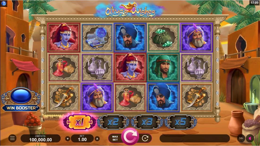 Aliya's Wishes игровой автомат