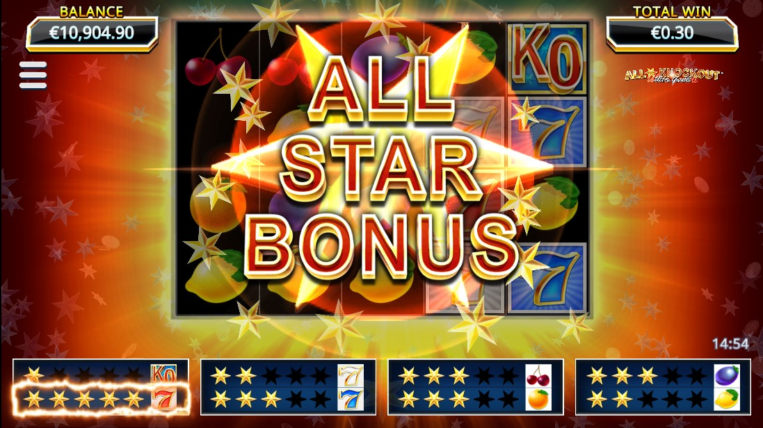 All Star Knockout Ultra Gamble онлайн слот