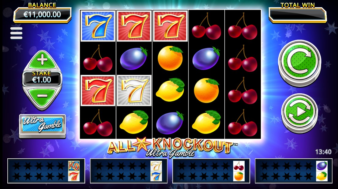 All Star Knockout Ultra Gamble бесплатный слот