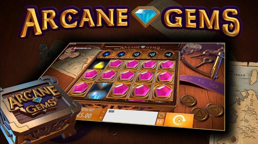 Играть Arcane Gems бесплатно