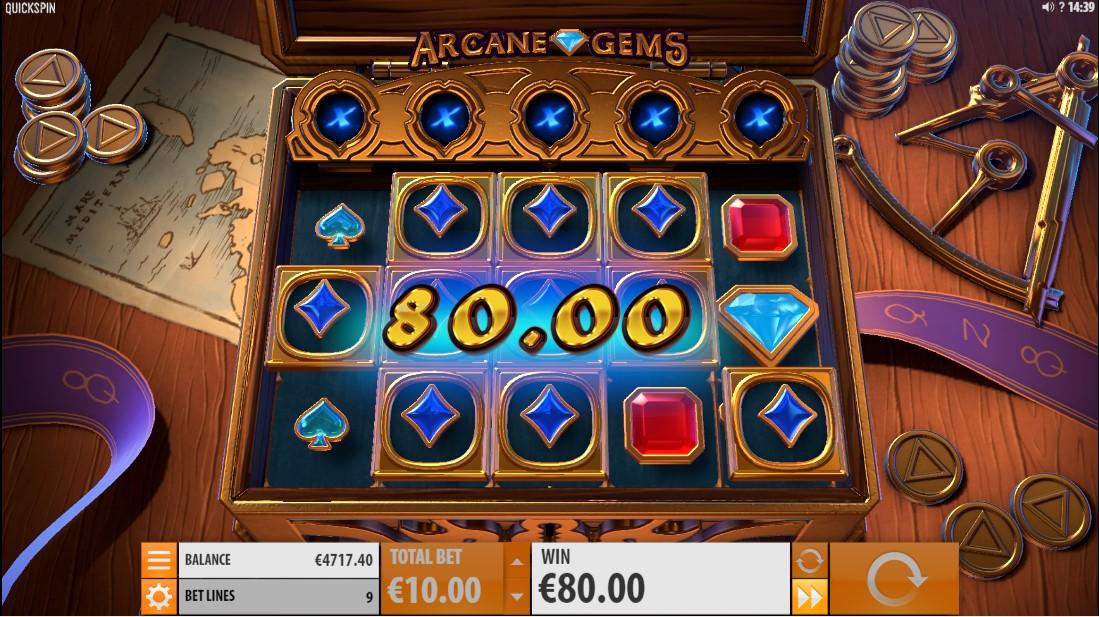 Онлайн слот Arcane Gems