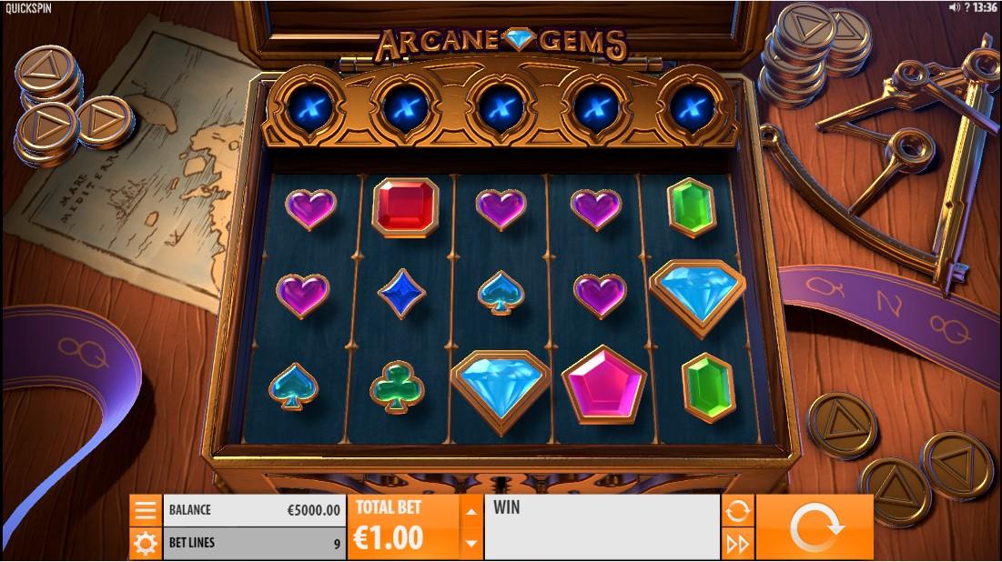 Arcane Gems игровой автомат