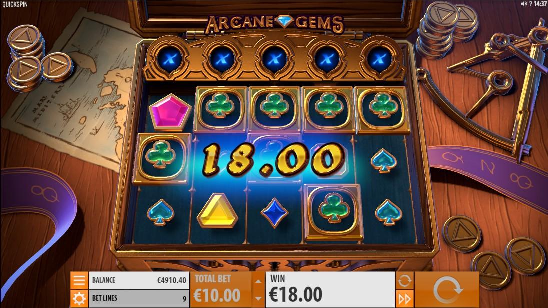Игровой автомат Arcane Gems