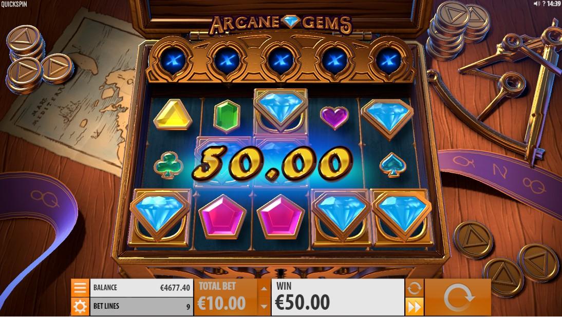 Слот Arcane Gems играть бесплатно