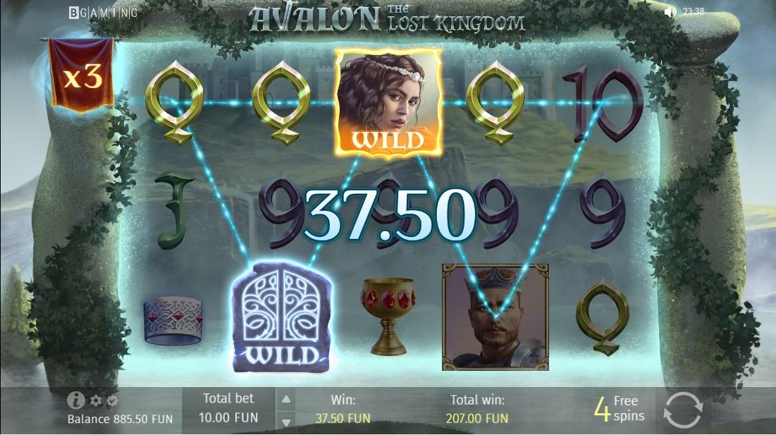 Avalon The Lost Kingdom онлайн слот