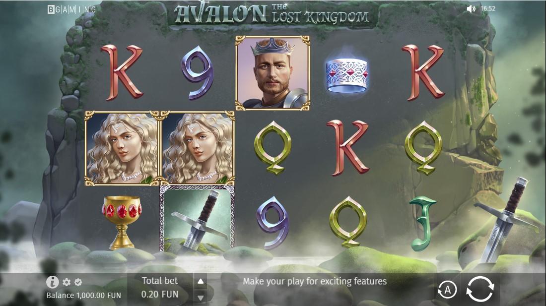 Игровой автомат Avalon The Lost Kingdom