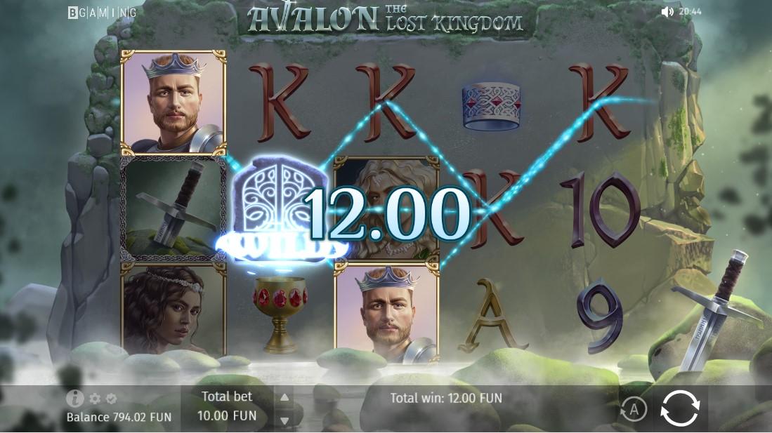 Бесплатный слот Avalon The Lost Kingdom