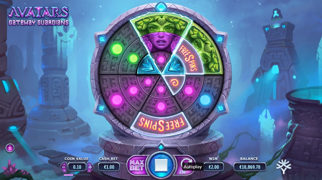 Avatars Gateway Guardians free slot