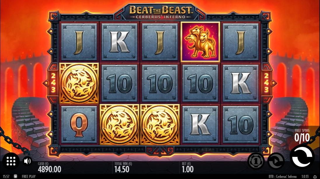 Beat the Beast Cerberus' Inferno бесплатный слот