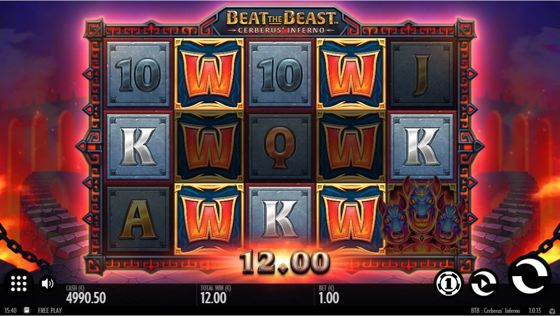 Beat the Beast Cerberus' Inferno онлайн слот