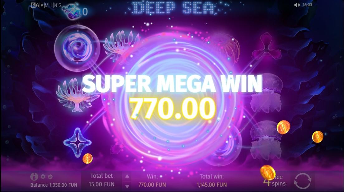 Deep Sea онлайн слот