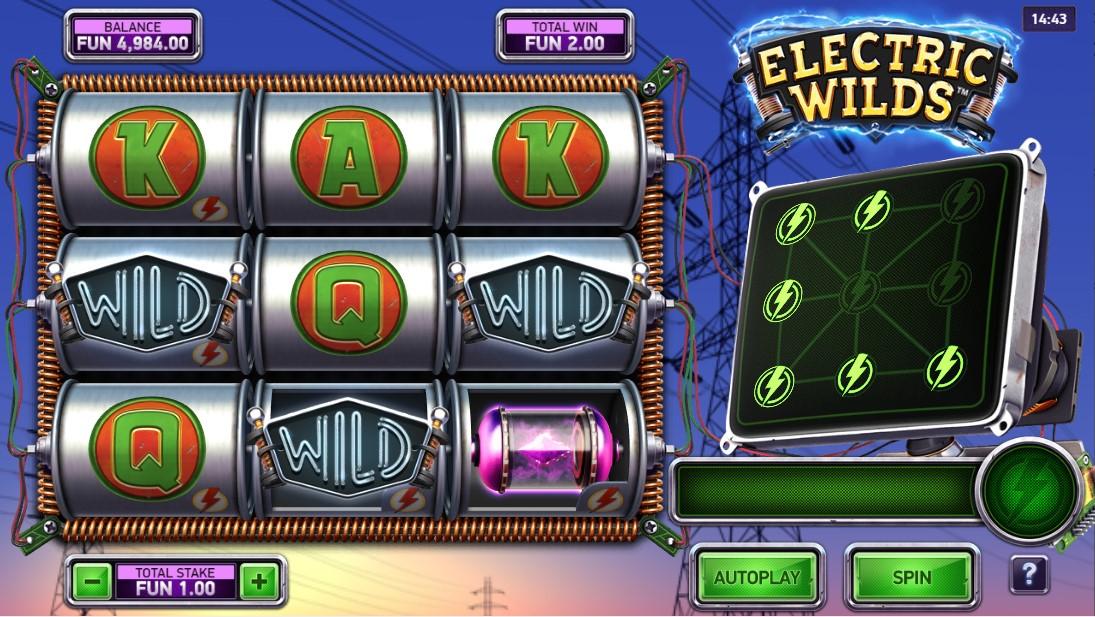 Electric Wilds игровой автомат