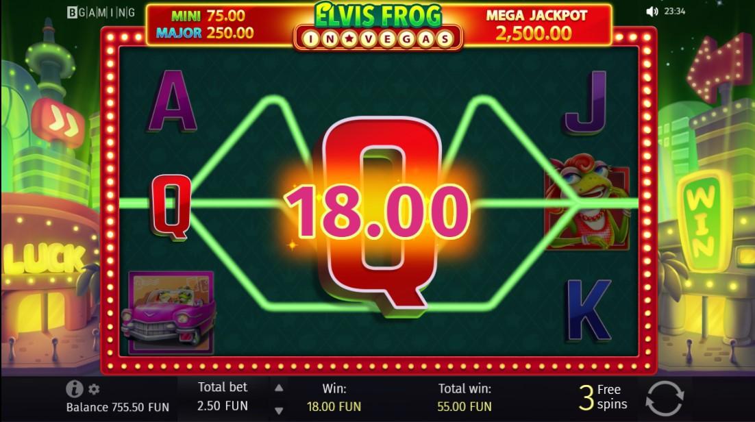 Elvis Frog in Vegas онлайн слот