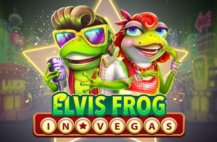 Играть Elvis Frog in Vegas бесплатно
