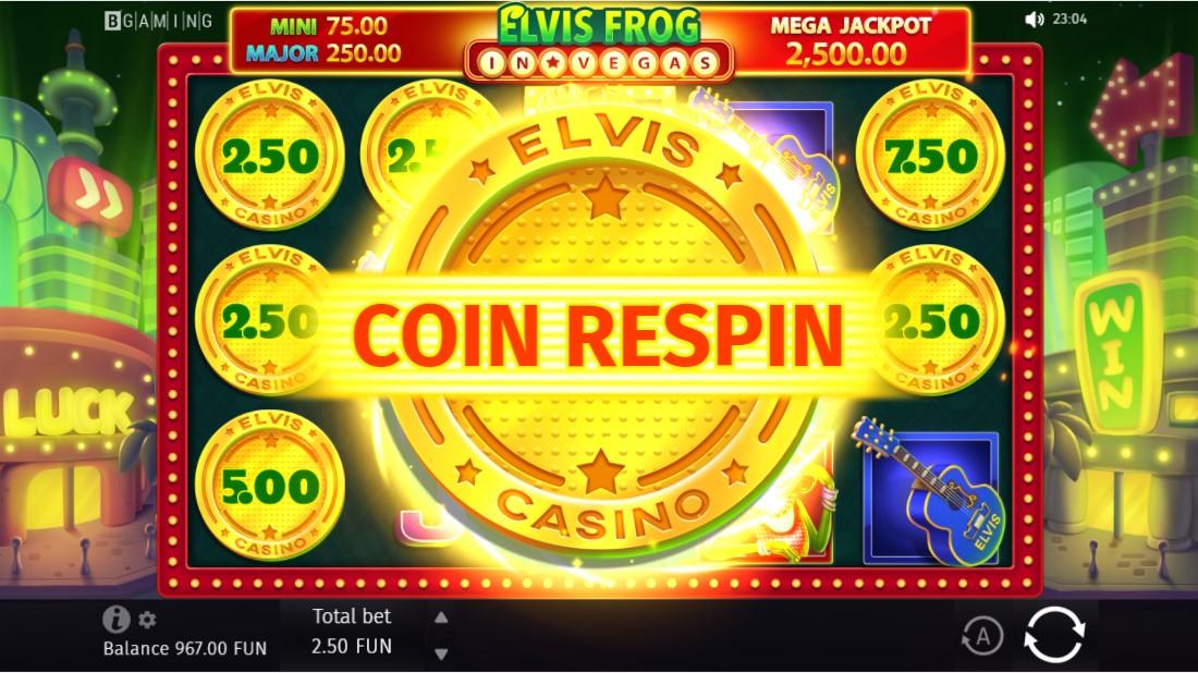 Elvis Frog in Vegas free slot