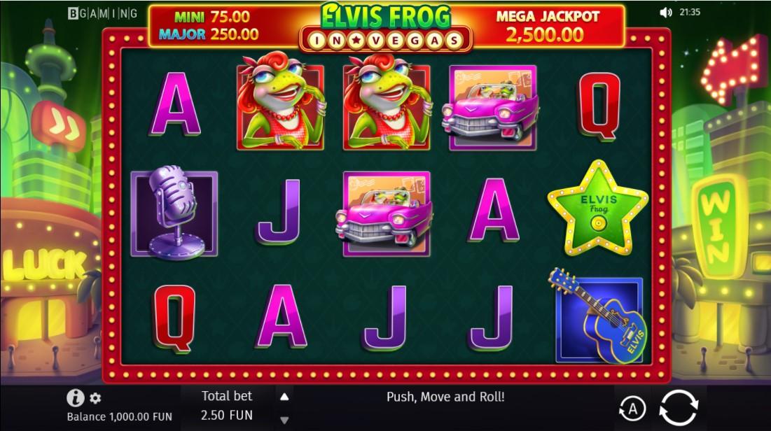 Слот Elvis Frog in Vegas играть