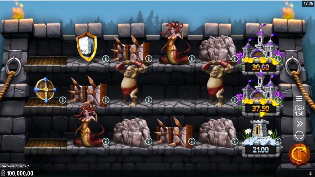 Fortress Charge игровой автомат