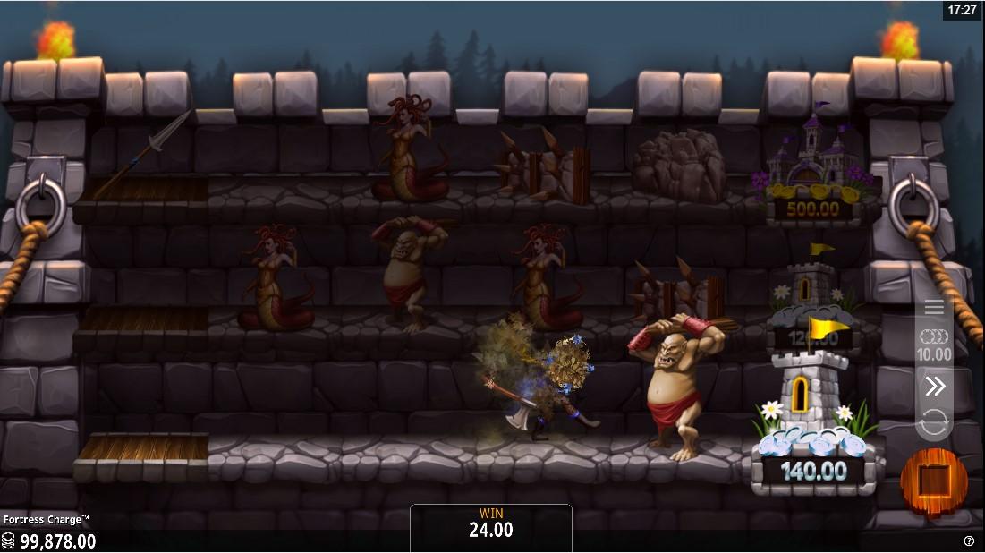 Слот Fortress Charge играть онлайн