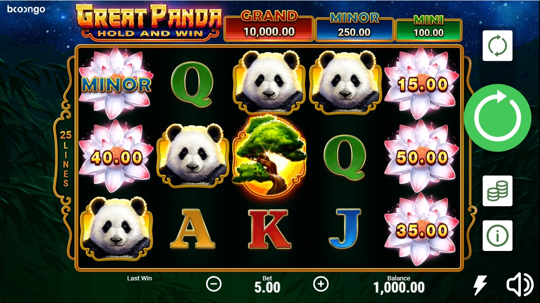 Great Panda free slot