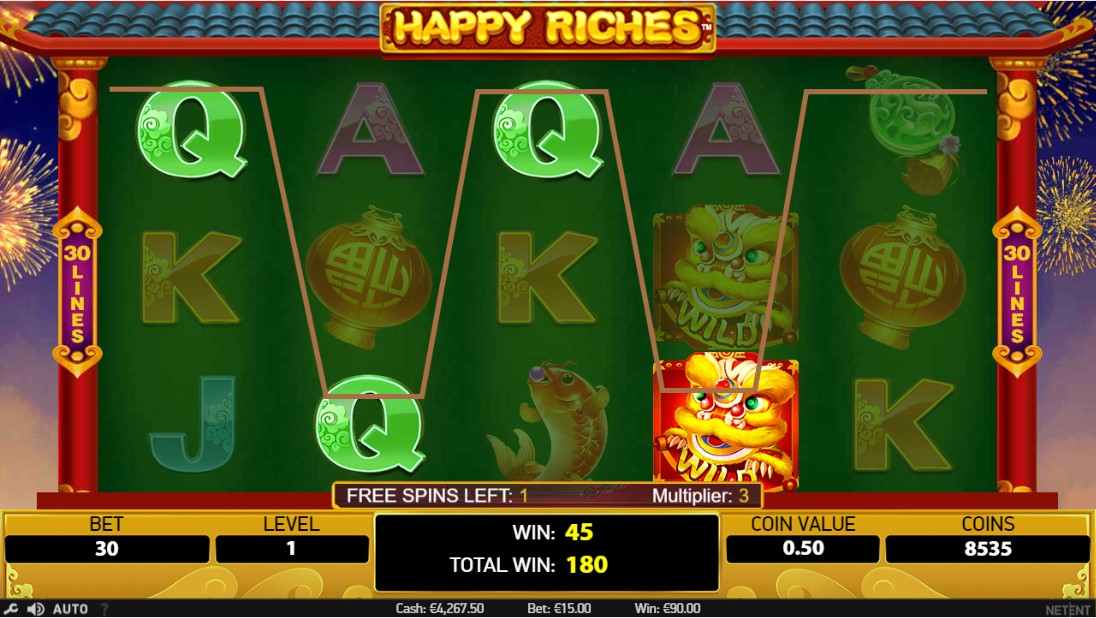 Игровой автомат Happy Riches