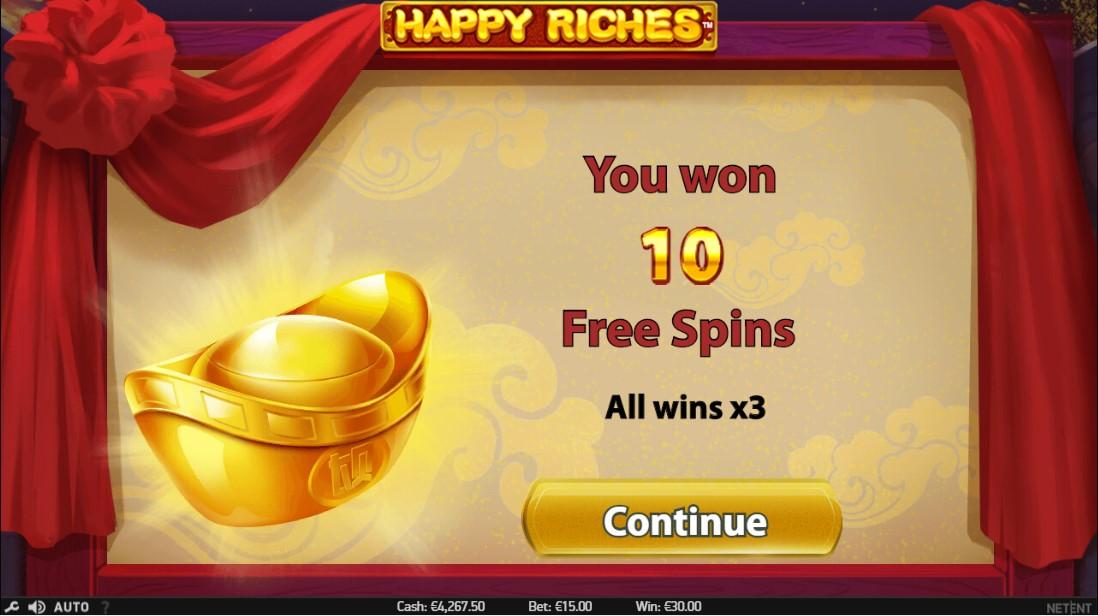 Онлайн слот Happy Riches