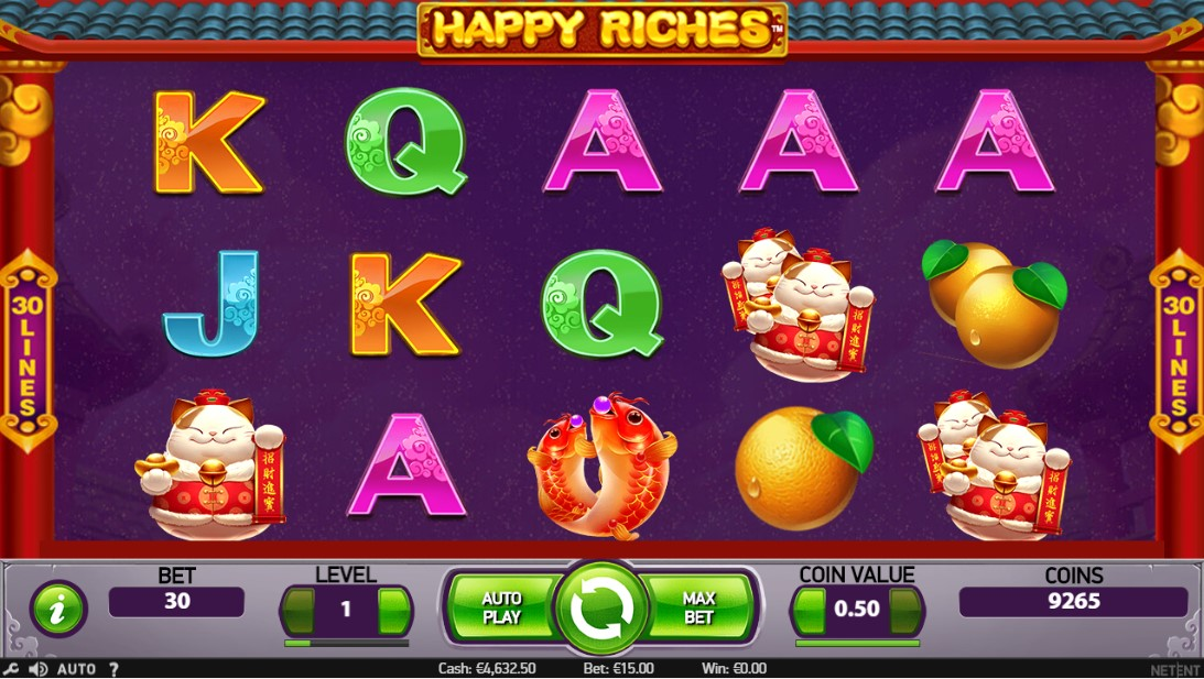 Happy Riches free slot