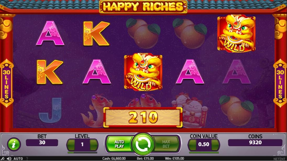 Слот Happy Riches играть