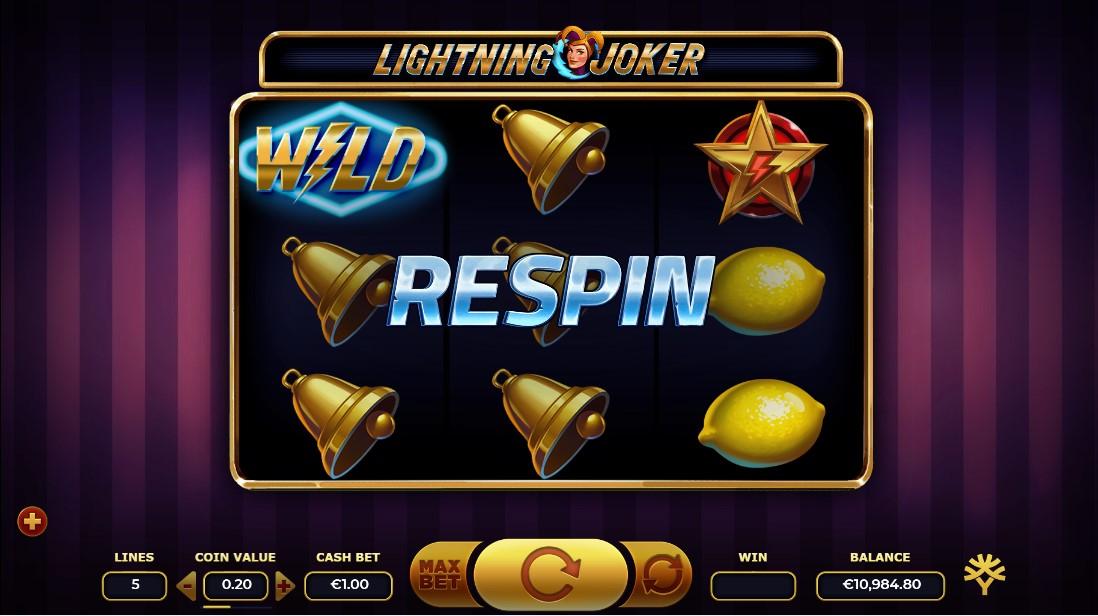 Lightning Joker игровой автомат