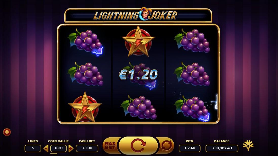Онлайн слот Lightning Joker