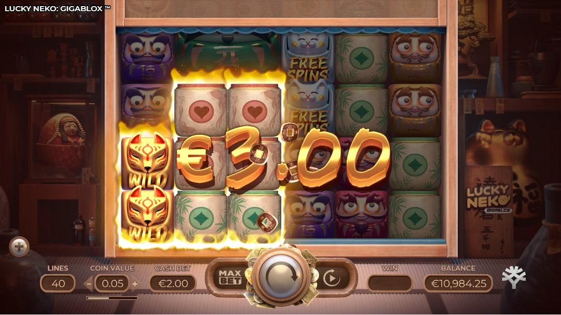 Lucky Neko Gigablox free slot