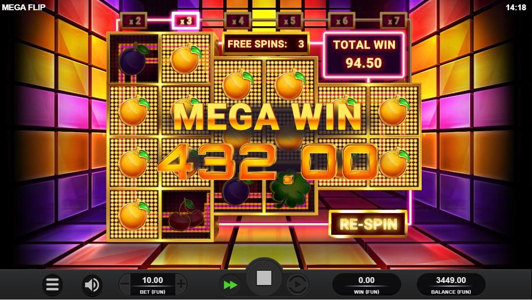 Игровой автомат Mega Flip