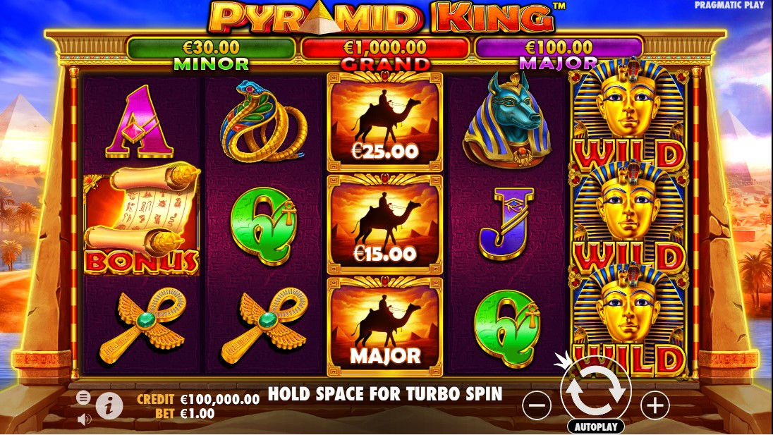 Pyramid King free slot
