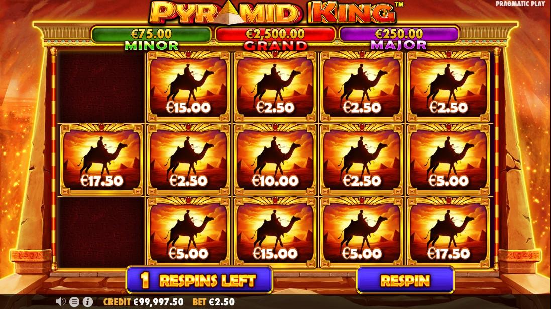 Pyramid King бесплатный слот