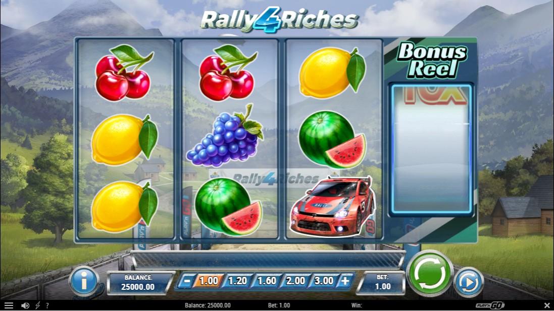 Слот Rally 4 Riches играть бесплатно