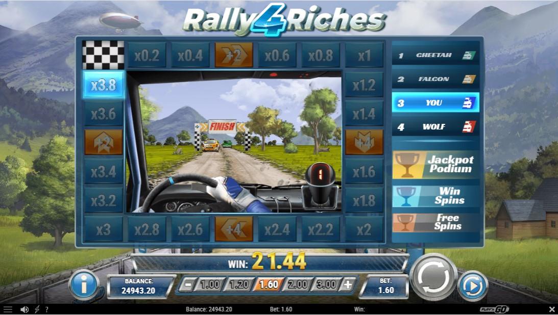 Rally 4 Riches игровой автомат