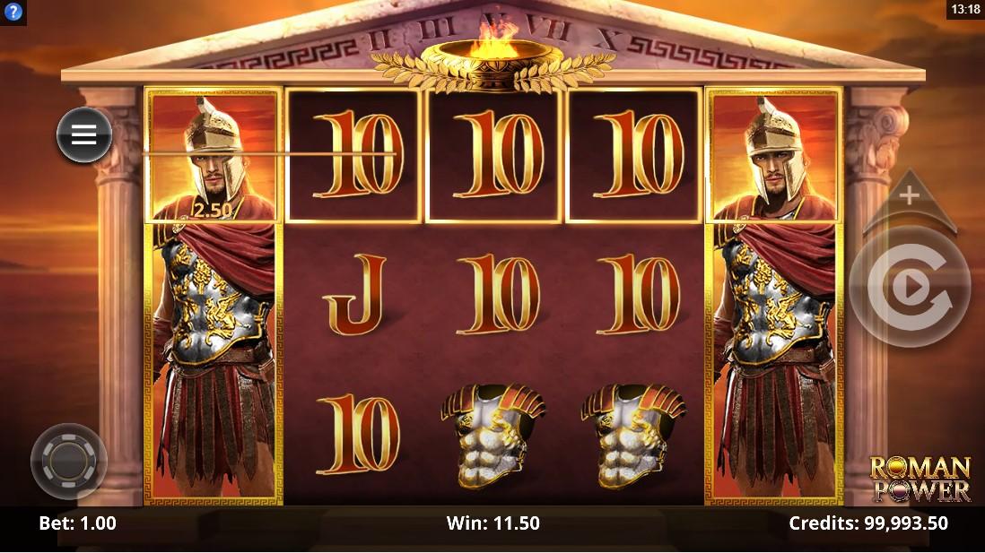 Roman Power бесплатный слот