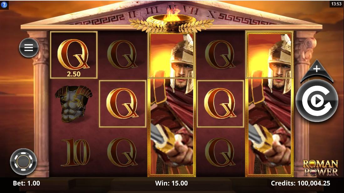 Roman Power игровой автомат