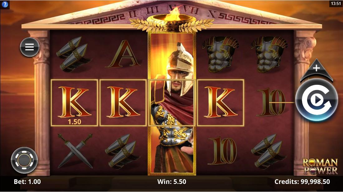 Roman Power онлайн слот