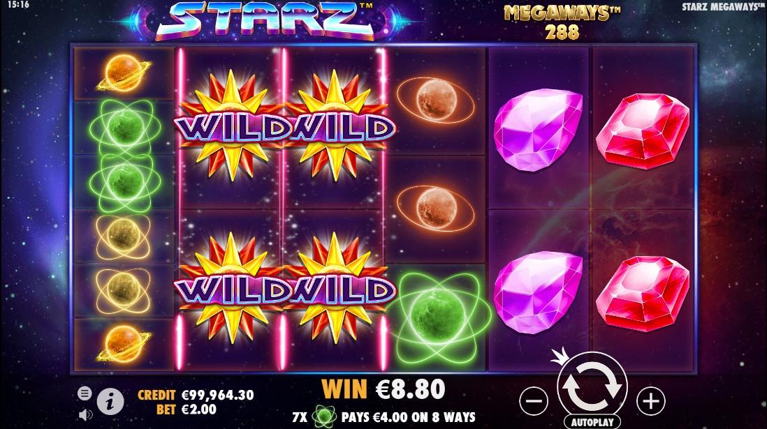 Free slot Starz Megaways